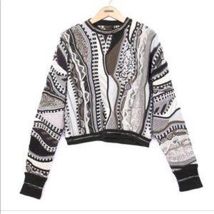 Rag & Bone RB X Coogi Crewneck Pullover Sweater